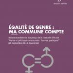 [Brochure] Pour les femmes et les hommes, pour les filles et les garçons, ma commune donne le ton !