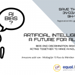 Save the date: Artificial Intelligence, a future for all?