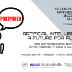 "Matinée d'étude : ""Artificial Intelligence, a future for all? Bias and discrimination risks, acting together to make AI inclusive"""