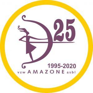 Logo 25 ans 25 jaar Amazone