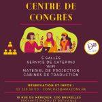 Réouverture et réservations du Centre de Congrès