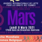 8 MARS : REJOIGNEZ LA MARCHE MONDIALE DES FEMMES !